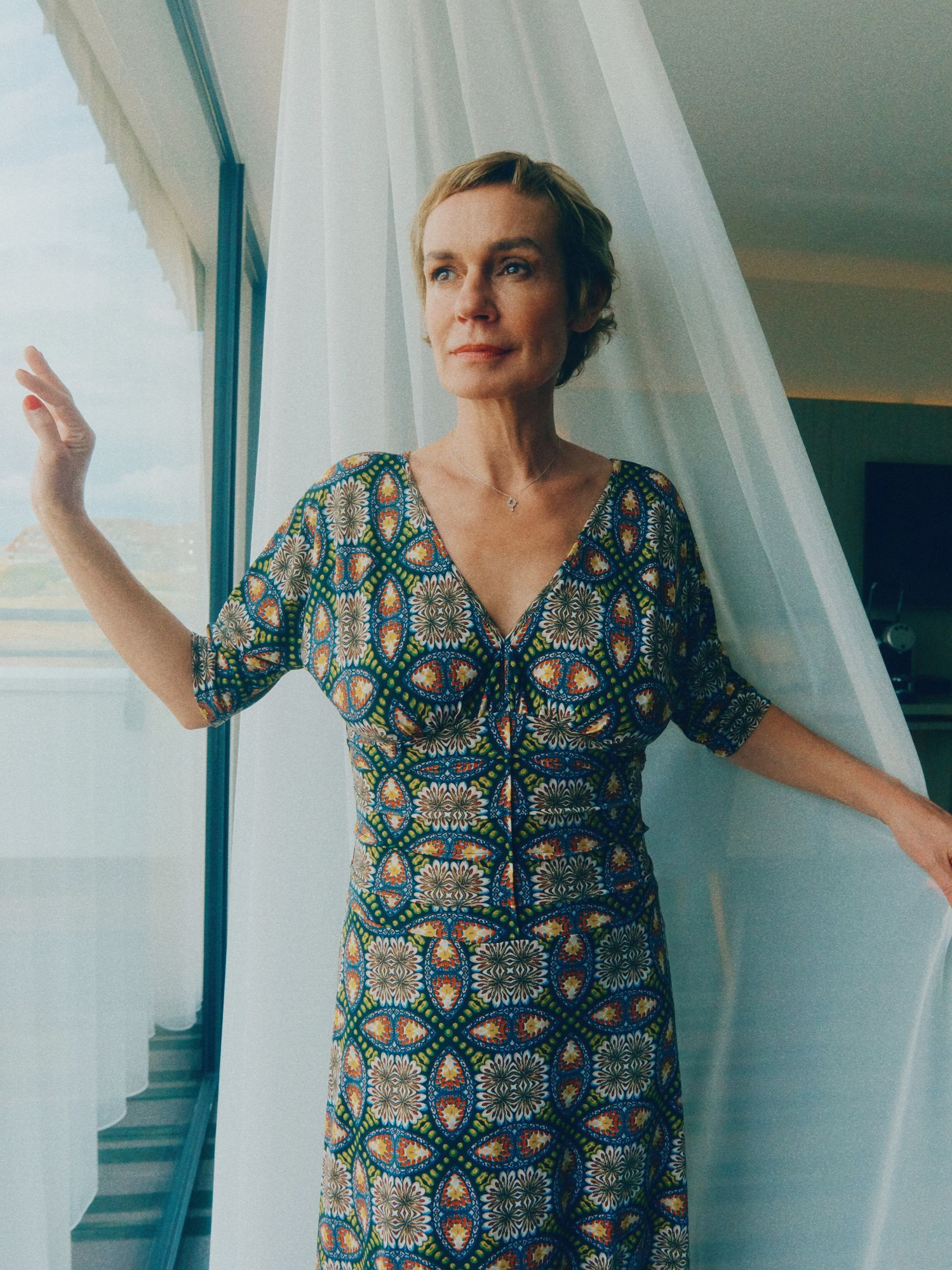 Sandrine Bonnaire, Présidente du Grand Jury Maquillage : Dr. Hauschka Coiffure : Franck Provost