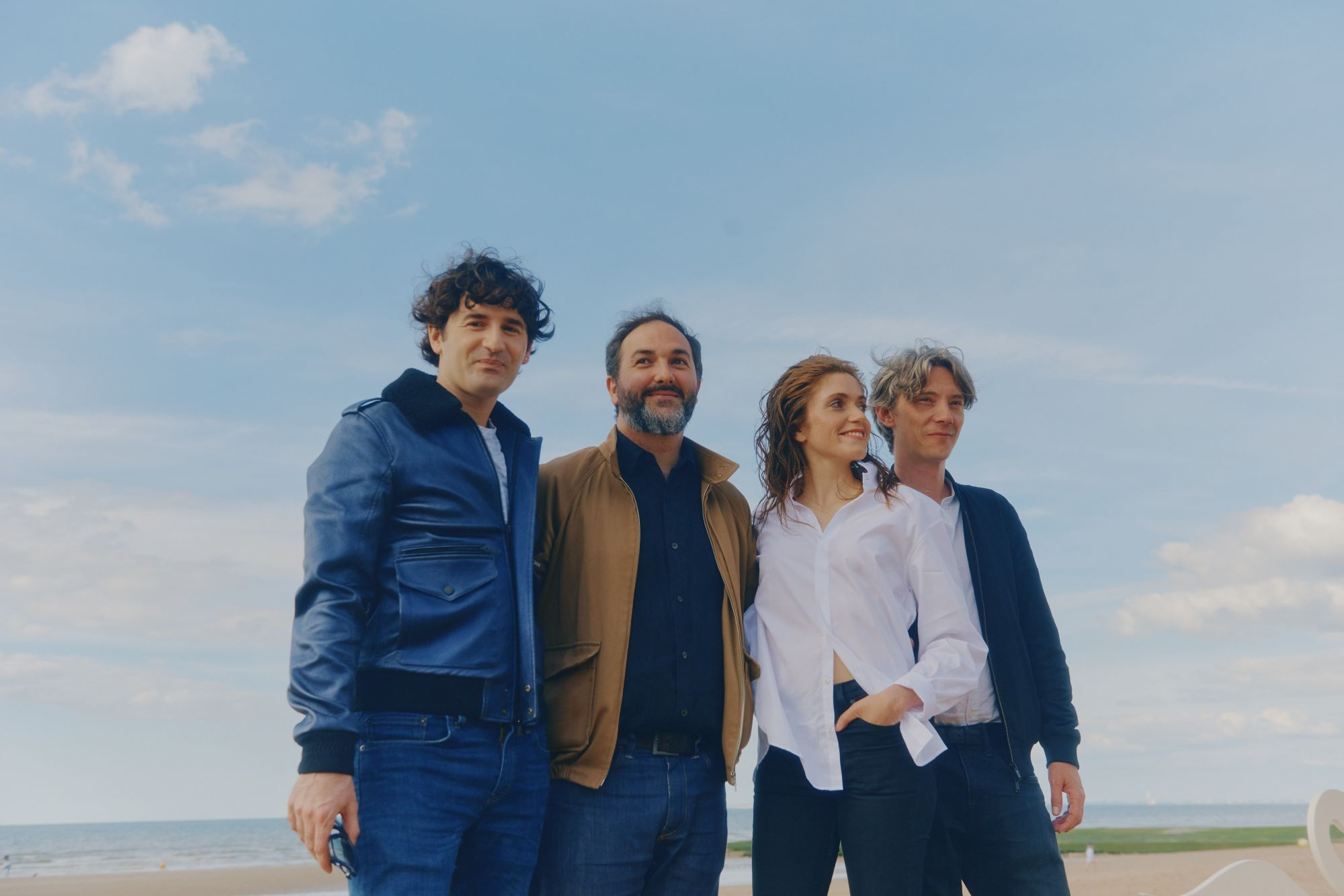 Nicolas Maury (acteur), Erwan Le Duc (réalisateur), Maud Wyler (actrice), Swann Arlaud (acteur) venus présenter