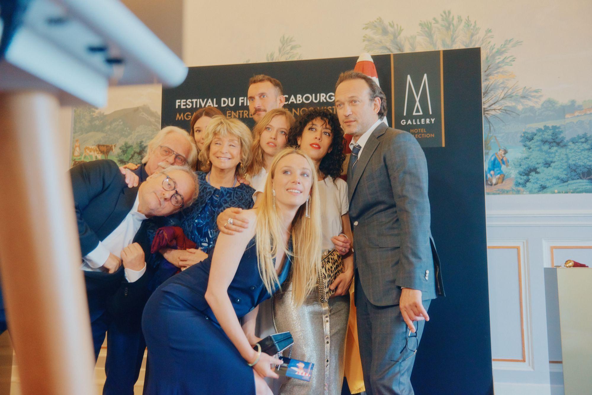 Le Grand Jury lors de la Soirée d'Ouverture Maquillage : Dr. Hauschka Coiffure : Franck Provost