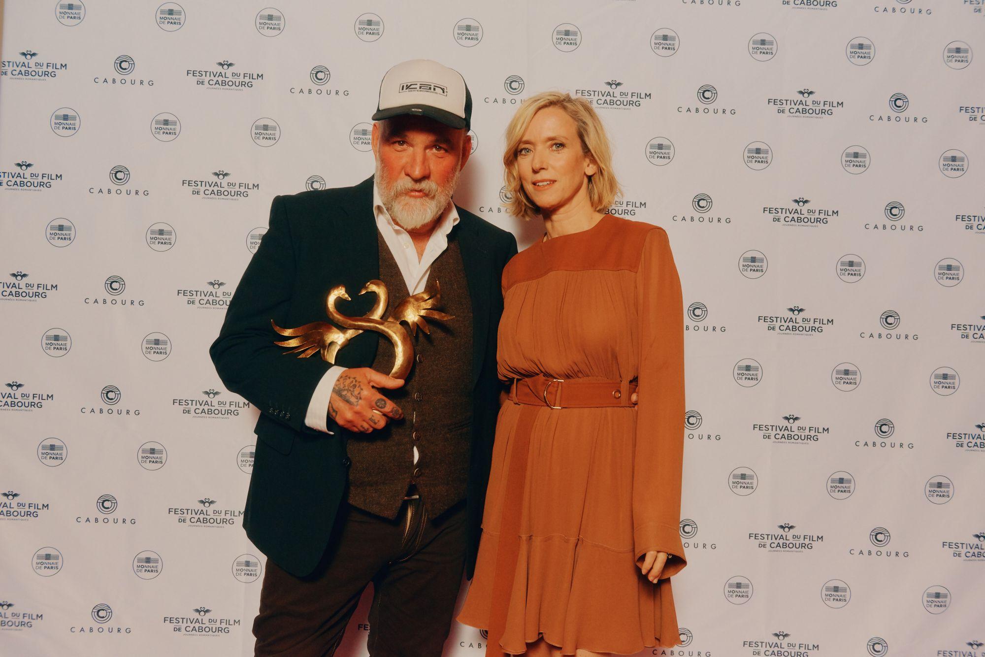 Bouli Lanners, Swann d'Or du Meilleur Acteur, remis par Léa Drucker, pour son rôle dans