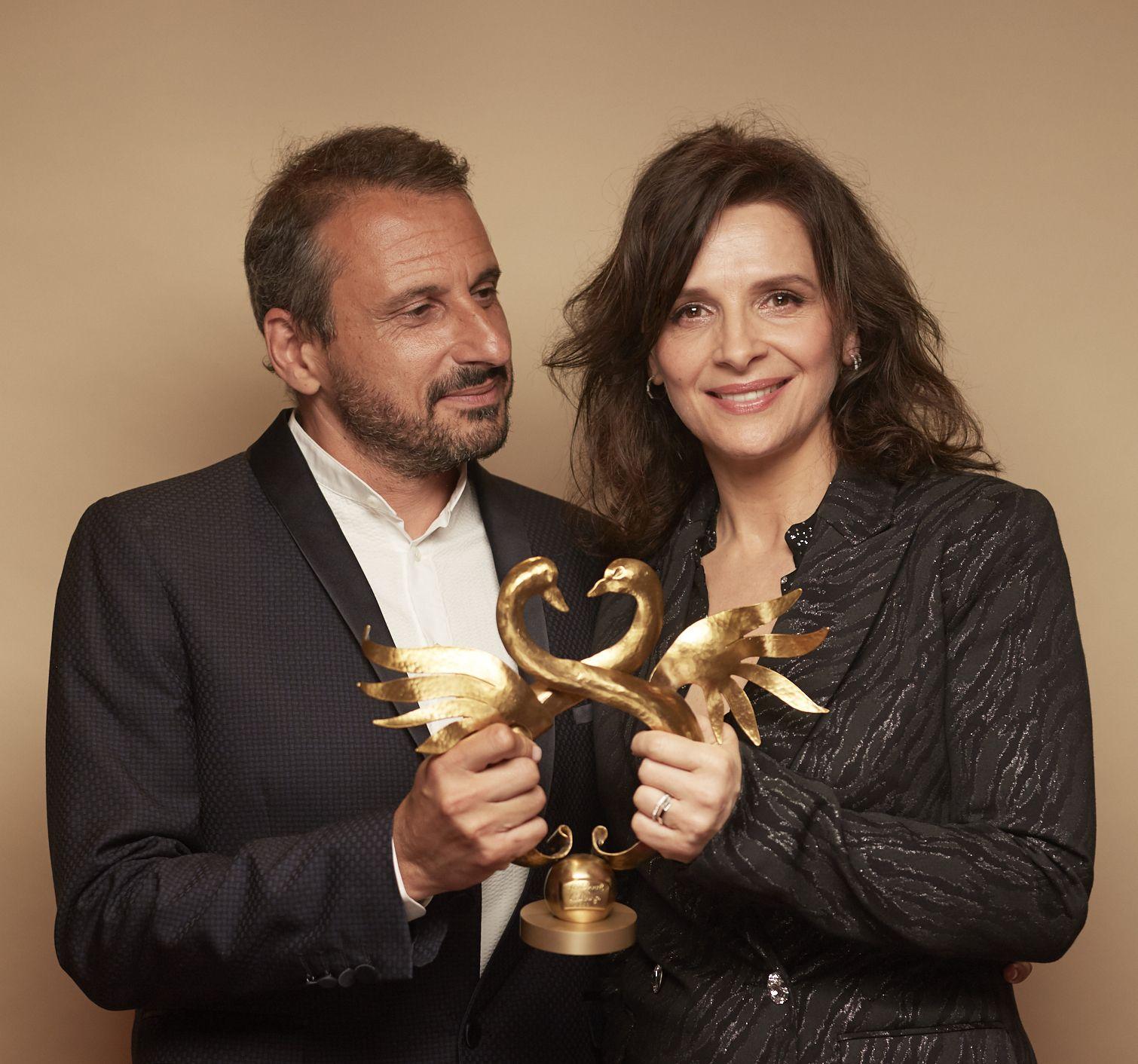 Juliette Binoche, Swann d'Or de la Meilleure Actrice dans