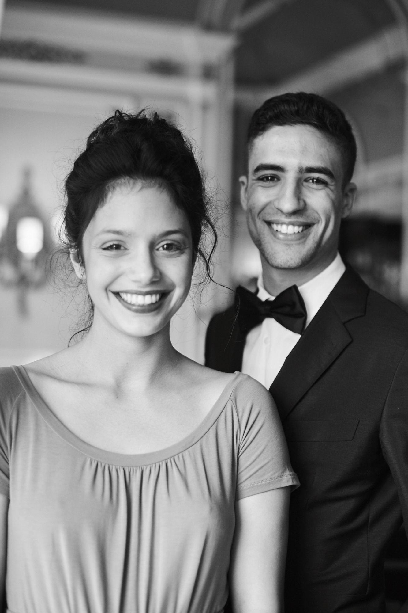 Noée Abita (actrice) et Shaïn Boumedine (acteur)  Maquillage : Dr. Hauschka Coiffure : Franck Provost